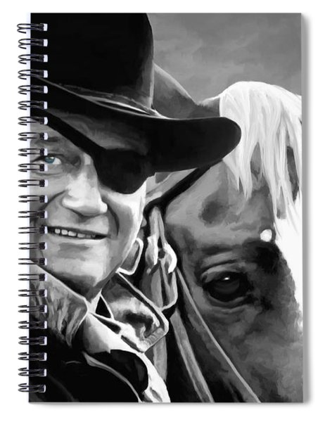 John Wayne @ True Grit #1 Spiral Notebook