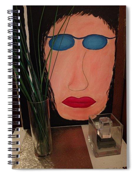 Johnlennonborderline Spiral Notebook