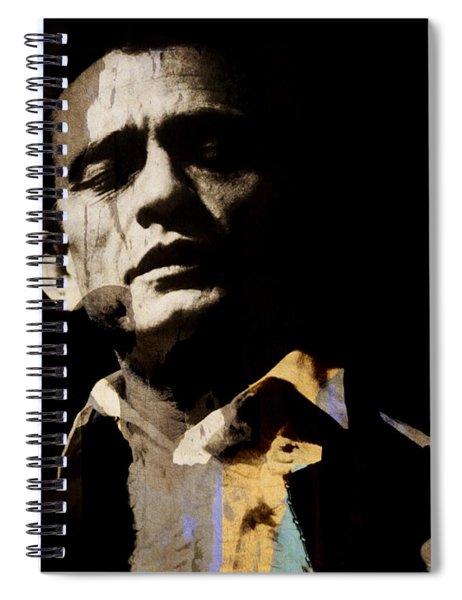 Johnny Cash - I Walk The Line  Spiral Notebook