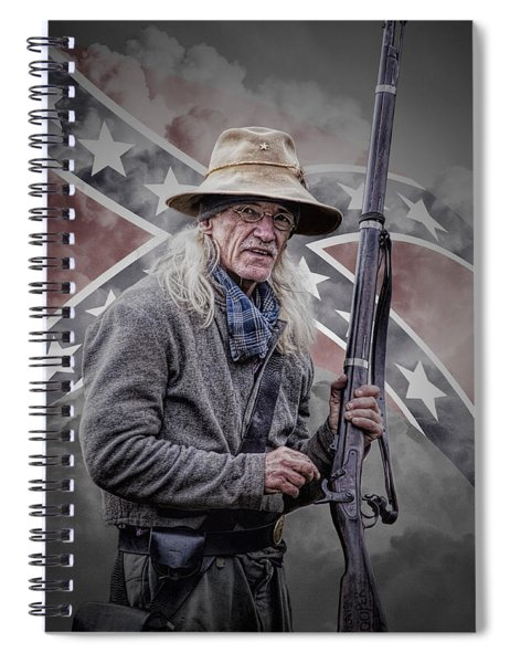 Johnny Reb Spiral Notebook
