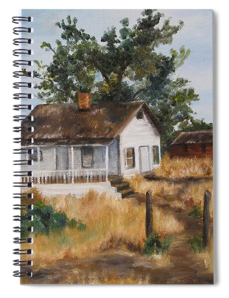 Johnny's Home Spiral Notebook