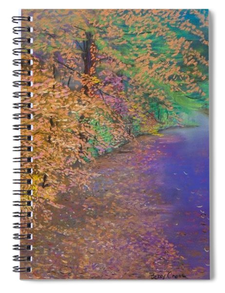 John's Pond In The Fall Spiral Notebook