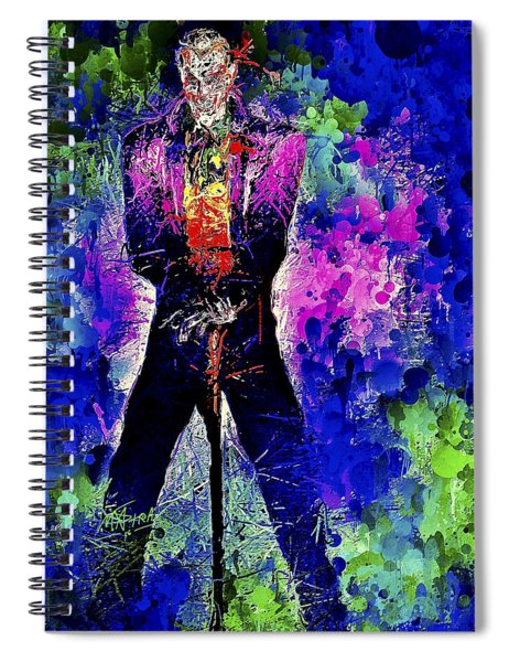 Joker Night Spiral Notebook