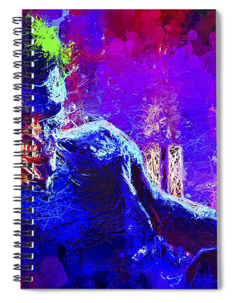 Joker's Grin Spiral Notebook