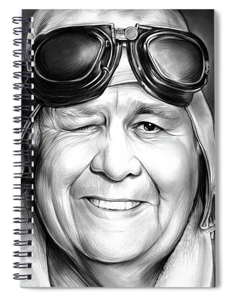 Jonathan Winters Spiral Notebook