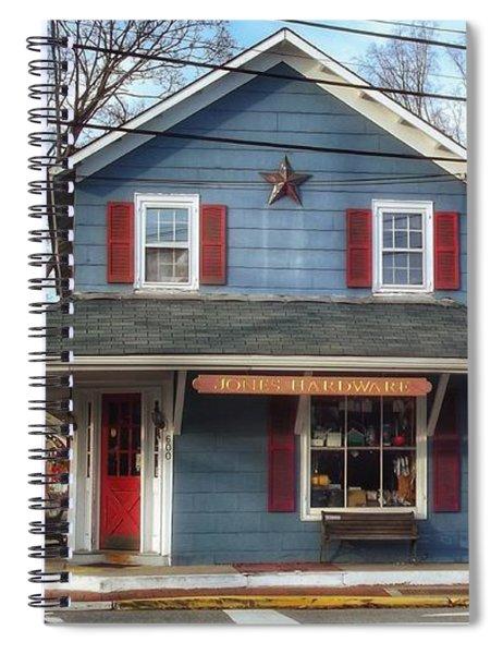 Jones Hardware, A Pequannock Legend Spiral Notebook