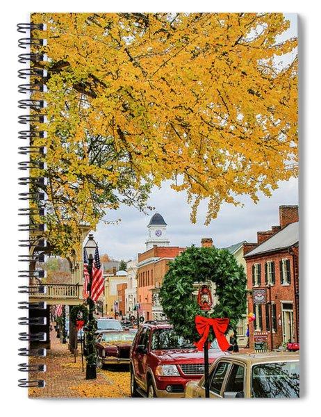 Jonesborough Christmas Spiral Notebook