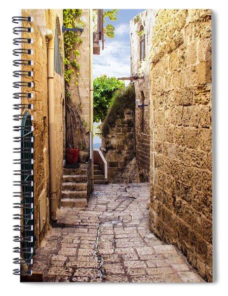 Joppa Israel Passageway Spiral Notebook