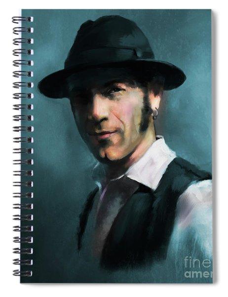 Mr. Marin Spiral Notebook