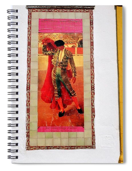 Jose Gomez Ortega Spiral Notebook