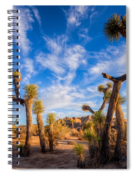 Joshua Tree Dawn Spiral Notebook