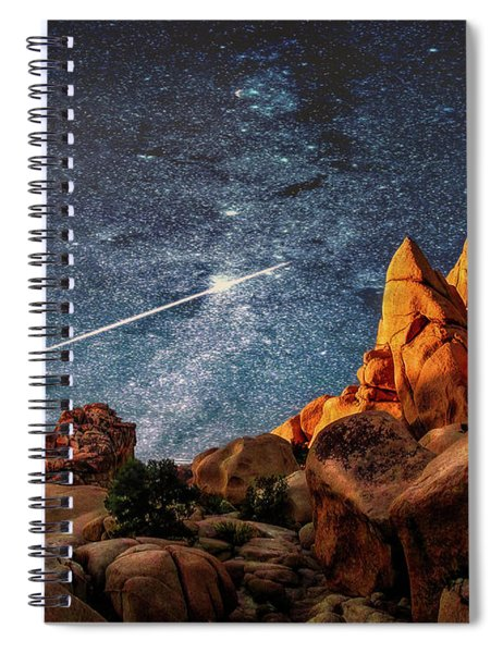 Joshua Tree Impression Spiral Notebook