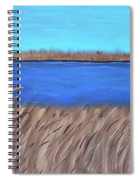 Jourdan River Marsh Spiral Notebook