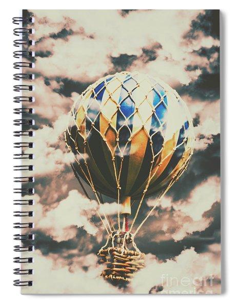 Journey Beyond Spiral Notebook