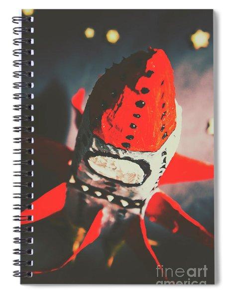 Journey Beyond The Stars Spiral Notebook