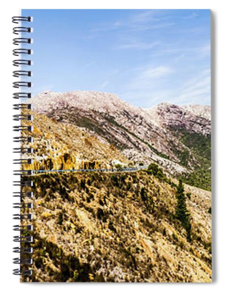 Journey Into The Wild West Spiral Notebook