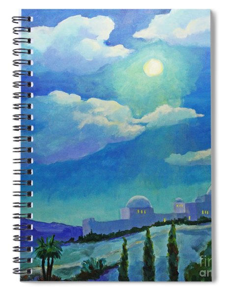 On A Cold Winter's Night Spiral Notebook