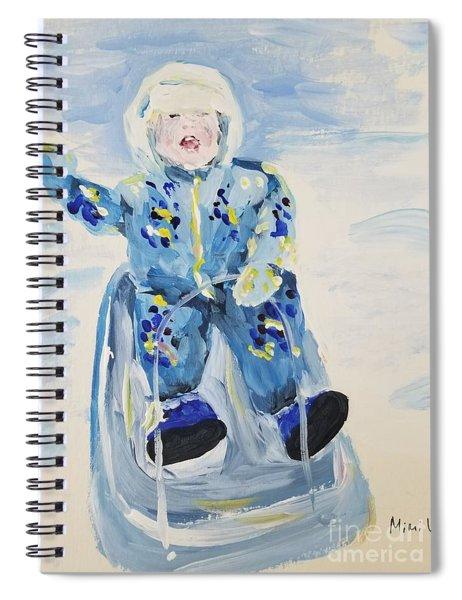 Joy Ride Spiral Notebook