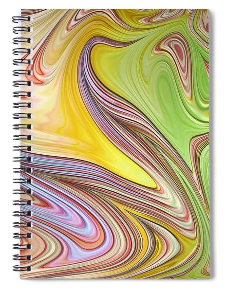 Joyful Flow Spiral Notebook