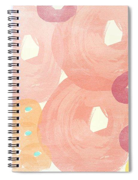 Joyful Rose Garden Spiral Notebook
