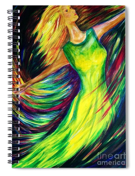 Joy's Dance Spiral Notebook