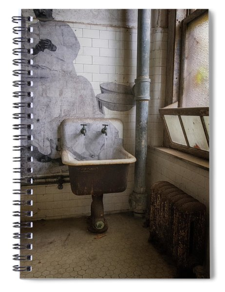 Jr On The Wall Spiral Notebook