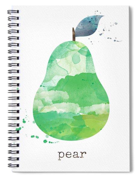 Juicy Pear Spiral Notebook