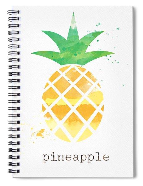 Juicy Pineapple Spiral Notebook