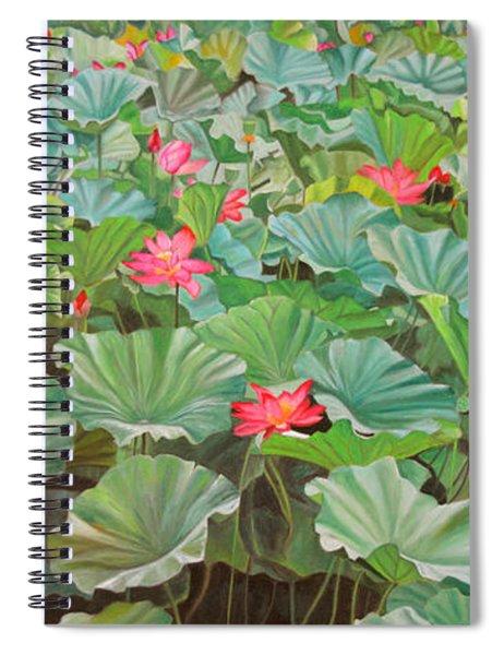 July 4th Spiral Notebook
