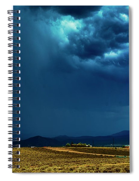 July Monsoons Spiral Notebook