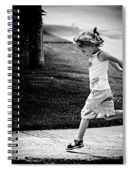 Jump In Spiral Notebook
