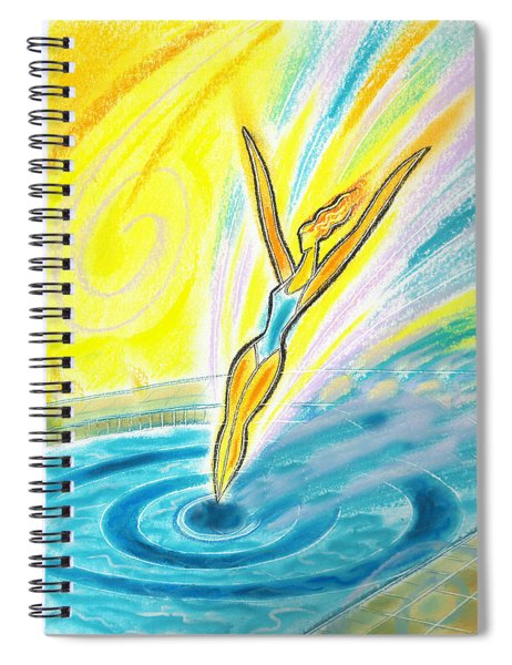 Jumping Right On Target Spiral Notebook