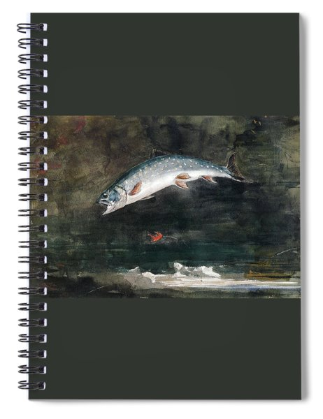 Jumping Trout Spiral Notebook