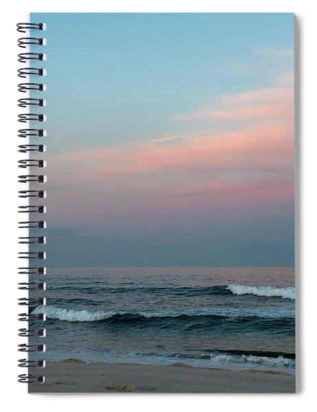 June Sky Seaside New Jersey Spiral Notebook