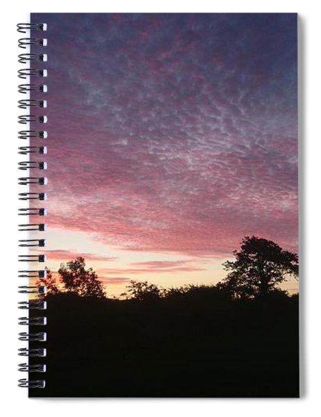 June Sunrise Spiral Notebook