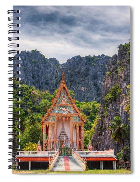 Jungle Temple Spiral Notebook