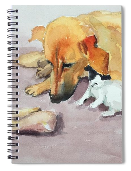 Junior And Amira Spiral Notebook