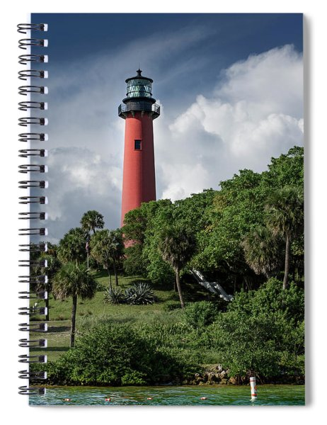 Jupiter Inlet Lighthouse Spiral Notebook