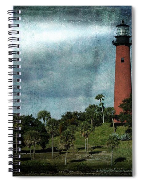 Jupiter Lighthouse-2a Spiral Notebook