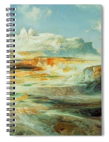 Jupiter Terrace  Yellowstone Spiral Notebook