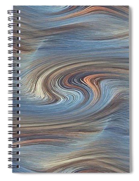 Jupiter Wind Spiral Notebook