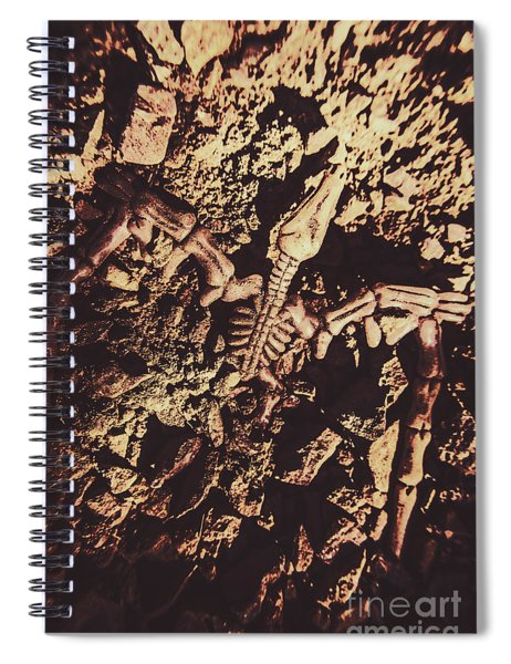 Jurassic Grave Spiral Notebook