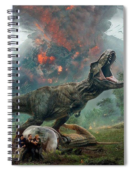 Jurassic World Fallen Kingdom  Spiral Notebook