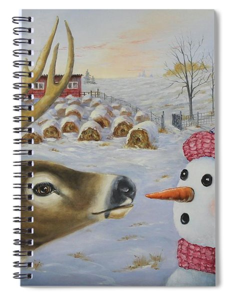 Just A Nibble Spiral Notebook