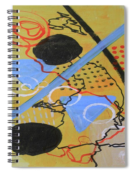 Just Above The Line Spiral Notebook