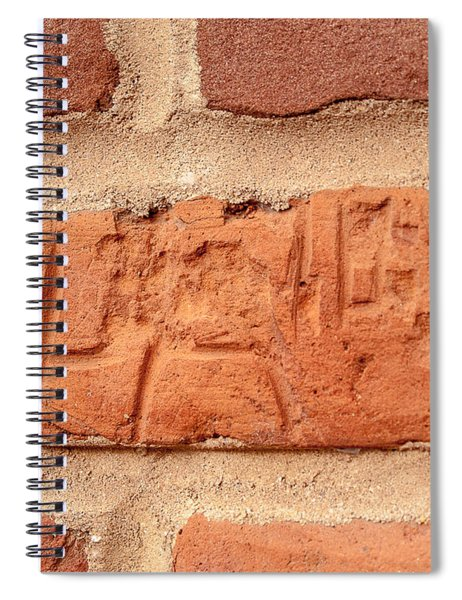 Just Another Brick In The Wall Spiral Notebook