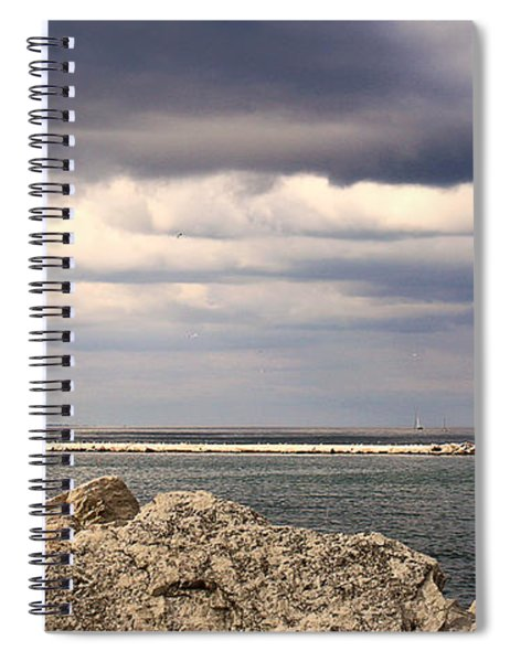 Just Before The Storm Spiral Notebook