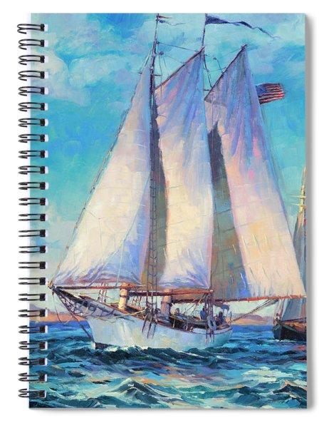 Just Breezin' Spiral Notebook
