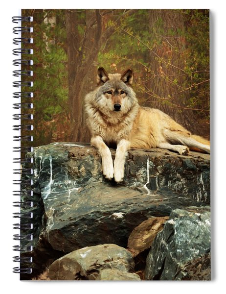 Just Chilling Spiral Notebook