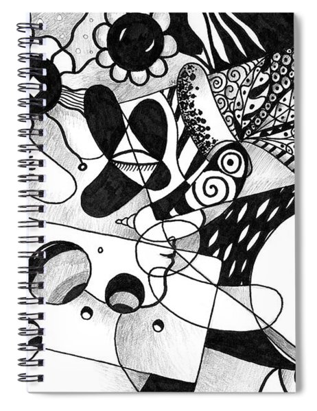 Just In Time Spiral Notebook